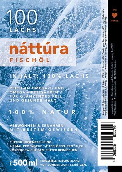 Náttúra - Lachsöl