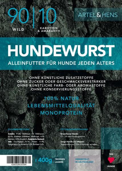 Náttúra - Hundewurst Wild 90 / 10