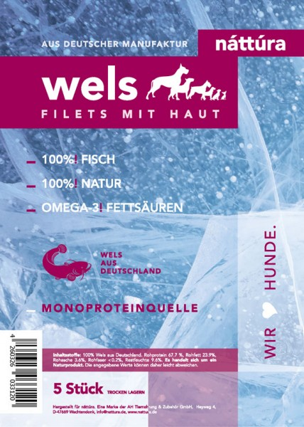 Náttúra - Wels Filets mit Haut