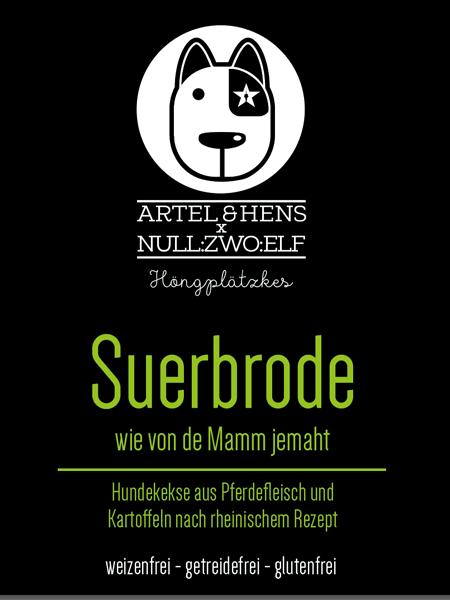 Suerbrode - der leckere Regiokeks für den Hund