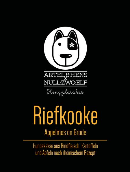 Riefkooke - ein Spezialitäten-Keks für den Hund